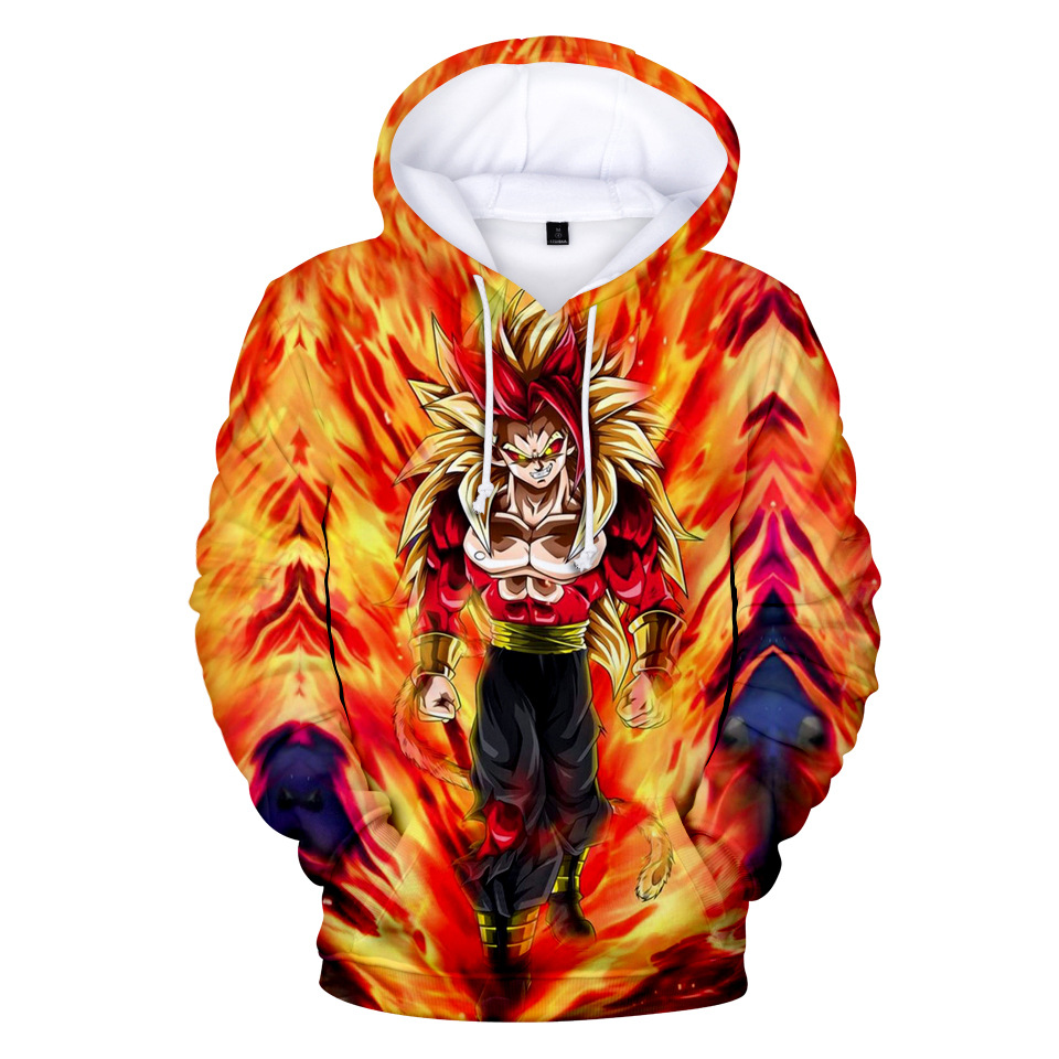 dragon ball anime 3d printed hoodie 2xs to 4xl