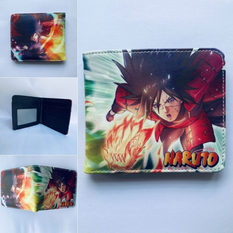 Naruto Full color two fold short wallet purse 249