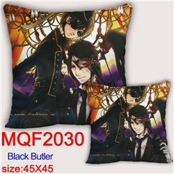 Kuroshitsuji Double-sided full color pillow dragon ball 45X45CM MQF 2030
