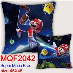 Mario Double-sided full color pillow dragon ball 45X45CM MQF 2042
