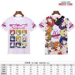Love Live full color short sleeve t-shirt 9 sizes from 2XS to 4XL MQTO-1206