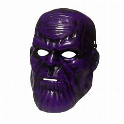 The Avengers Thanos COS Halloween Horror Funny Mask Props 85G 27.5X19.5CM a set price for 5 pcs