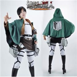 Attack on Titan Eren Jaeger The Recon Corps Uniform Outfits Cosplay Costume XXS XS S M L XL XXL XXXL 7 days prepare