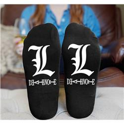 death note anime socks 15cm