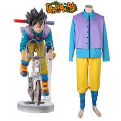 Dragonball Z Son Goku Bicycle Riding Suit Anime Cosplay Costume XXS XS S M L XL XXL XXXL 7 days prepare