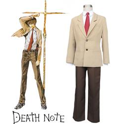 Death Note Yagami Light Suit School Uniform Anime Cosplay Costume XXS XS S M L XL XXL XXXL 7 days prepare