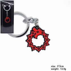 The Seven Deadly Sin Keychain pendant