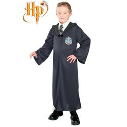 Harry Potter Draco Malfoy Slytherin Magic Uniform Overcoat Film Cosplay Costume 115-XXL