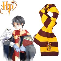 Harry Potter Harry James Potter Gryffindor Scarf Fim Cosplay Accessories 150*17cm