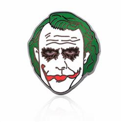Suicide Squad Clown male head drop oil badge brooch 2.1X2.1CM 7G price for 5 pcs