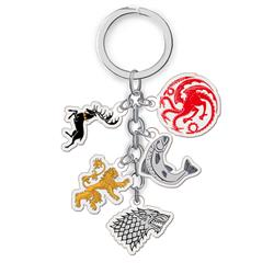 game of thrones anime double side acrylic keychain