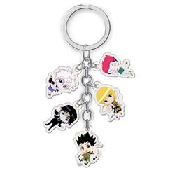 hunter hunter anime double side acrylic keychain