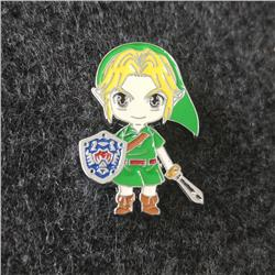 the legend of zelda anime pin