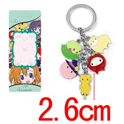 love live anime keychain