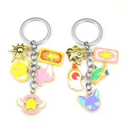card captor sakura anime keychain price for 1 pcs