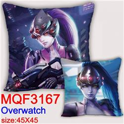 Overwatch Double-sided full color pillow dragon ball 45X45CM MQF 3167