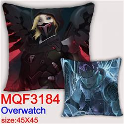 Overwatch Double-sided full color pillow dragon ball 45X45CM MQF 3184