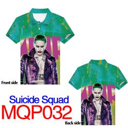 suicide squad anime 3d printed tshirt M to 3xl
