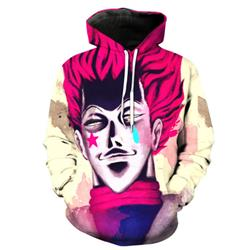 hunter hunter cisso anime 3d printed hoodie 2xs to 4xl