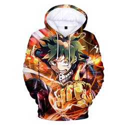 my hero academia anime 3d printed hoodie 2xs to 4xl