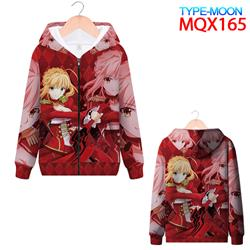 fate anime 3d printed hoodie 2xs to 4xl