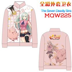 seven deadly sins anime 3d printed hoodie M to 3xl