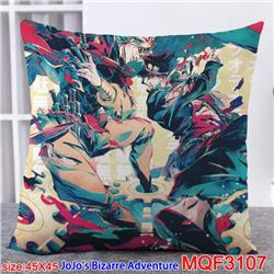 JoJos Bizarre Adventure Double-sided full color pillow dragon ball 45X45CM MQF 3107