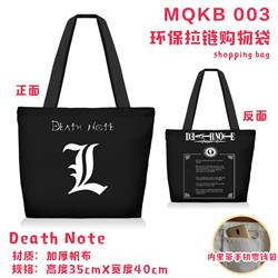 death note anime handbag