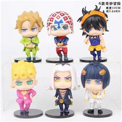 JoJos Bizarre Adventure Bagged Figure Decoration Model 10CM 0.64KG a set of 5 a box of 50 sets