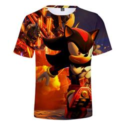sonic anime tshirt 2xs to 4xl