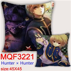 hunter hunter anime cushion pillow 45*45cm