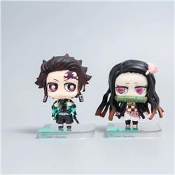 demon slayer anime figure with box 8.5cm price for a set