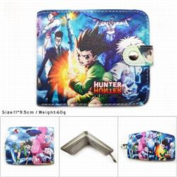 HUNTER×HUNTER Full color short button wallet 11X9.5CM 60G MK-060