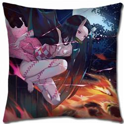 Demon Slayer Kimets Double-sided full color pillow cushion 45X45CM G4-114