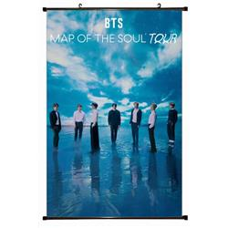 BTS Plastic pole cloth painting Wall Scroll 60X90CM preorder 3 days BS-768