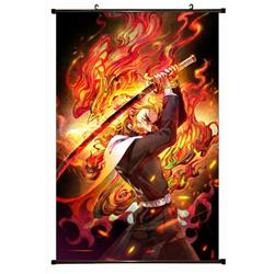 Demon Slayer Kimets Plastic pole cloth painting Wall Scroll 60X90CM preorder 3 days G4-179