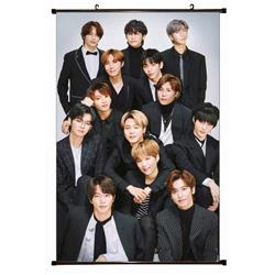 BTS Plastic pole cloth painting Wall Scroll 60X90CM preorder 3 days BS-849