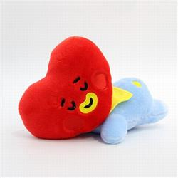 BTS Hearts Plush Doll Pillow Pillow 20CM 0.12KG