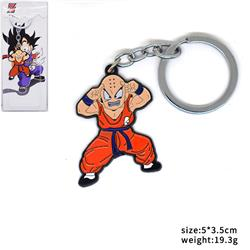 Dragon Ball Kuririn anime key chain