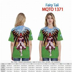AttributeFairy Tail Full color short sleeve t-shirt 9 sizes from 2XS to 4XL MQTO-1371