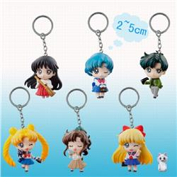 limited edition SailorMoon keychain pendant 2-5CM