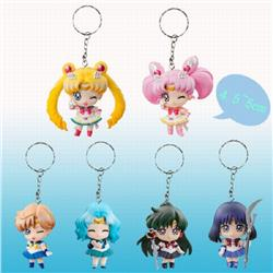 SailorMoon 2th generation Keychain pendant 4.5-5CM Style B