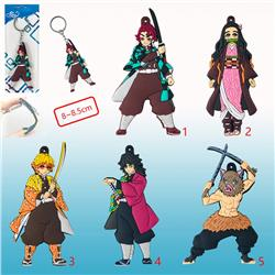 demon slayer anime rubber keychain price for 1 pcs