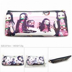 Demon Slayer Kimets PU full color zipper storage bag cosmetic bag pencil case price for 5 pcs-CK-054
