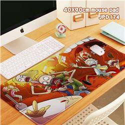Rick and Morty Anime Locking thick keyboard pad 40X90X0.3CM JPD174