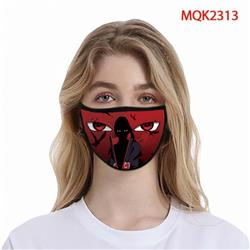 Naruto Color printing Space cotton Masks price for 5 pcs MQK2313
