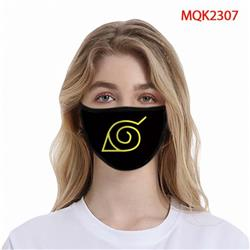 Naruto Color printing Space cotton Masks price for 5 pcs MQK2307