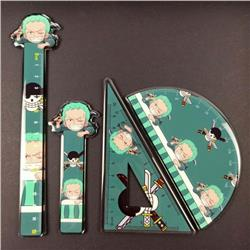 One Piece Student ruler a set of 4 pieces price for 2 set