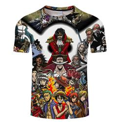 one piece anime 3d printed tshirt 2xs to 4xl