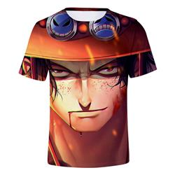 one piece anime 3d printed tshirt 2S to 4xl